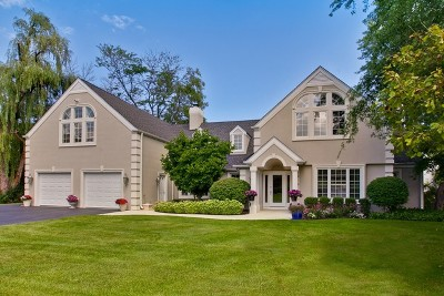 Lincolnshire Single Family Home For Sale: 1601 Riverwoods Road
