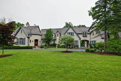 Libertyville Single Family Home New: 15356 West Oak Spring Road