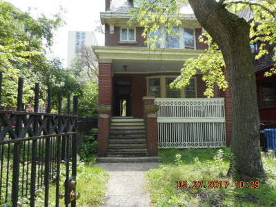 Chicago Single Family Home New: 4823 South Kenwood Avenue