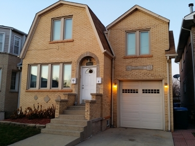 Chicago Multi Family Home New: 5844 West 55th Street