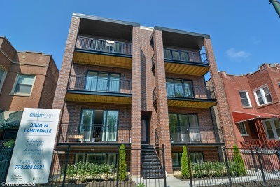 Chicago Multi Family Home New: 3340 North Lawndale Avenue