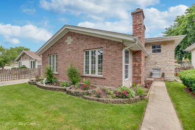 West Chicago Single Family Home For Sale: 1212 Elizabeth Street
