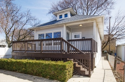 Chicago Single Family Home New: 3421 North Narragansett Avenue