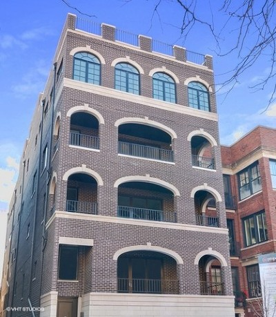 Chicago Condo/Townhouse New: 549 West Roscoe Street #3S