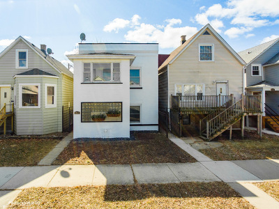 Chicago Multi Family Home New: 5037 West Byron Street