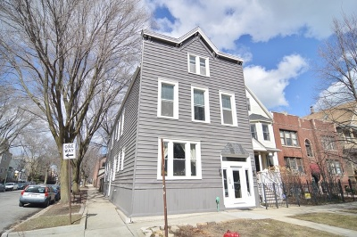 Chicago Multi Family Home New: 2170 West Warner Avenue West