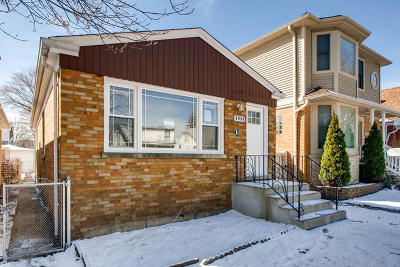 Chicago Single Family Home New: 6939 West Berwyn Avenue