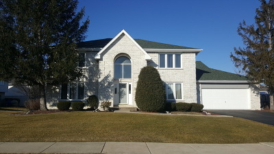 Tinley Park Single Family Home New: 18212 Hummingbird Drive