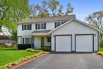 Island Lake Single Family Home Price Change: 101 West Burnett Road