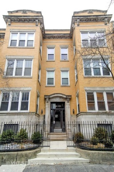 Condo/Townhouse New: 5324 South Hyde Park Boulevard #3