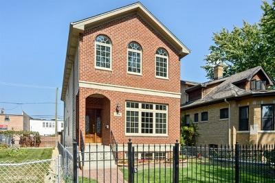 Chicago Single Family Home New: 5706 West Dakin Street