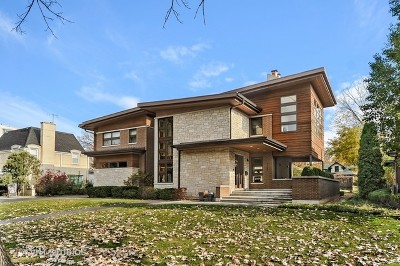 River Forest Single Family Home Price Change: 1521 Forest Avenue