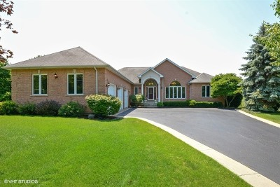 Island Lake Single Family Home For Sale: 107 Cardinal Court