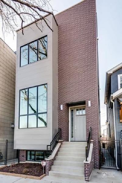 Chicago Single Family Home New: 634 North Rockwell Street
