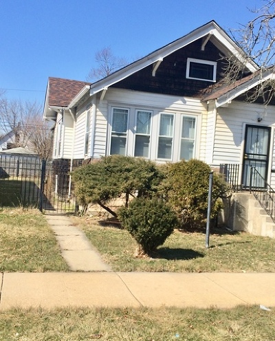 Single Family Home New: 10204 South Lafayette Avenue