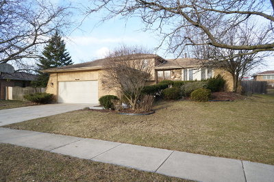 Orland Park Single Family Home New: 14140 Yorktown Drive