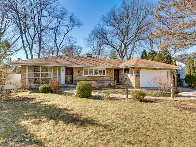 Glenview Single Family Home New: 414 North Branch Road