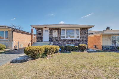Calumet City Single Family Home New: 411 Bensley Avenue