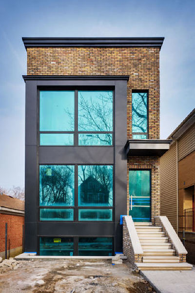 Chicago Single Family Home New: 2035 North Wolcott Avenue