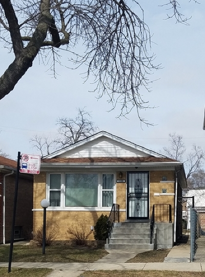 Chicago IL Single Family Home New: $129,000
