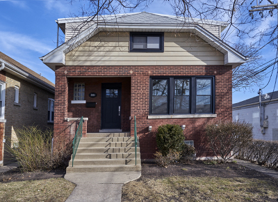 Chicago Single Family Home New: 2414 West Berenice Avenue