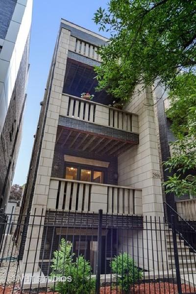 Chicago Condo/Townhouse New: 2916 North Damen Avenue #1
