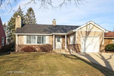 Mount Prospect Single Family Home New: 102 South Albert Street
