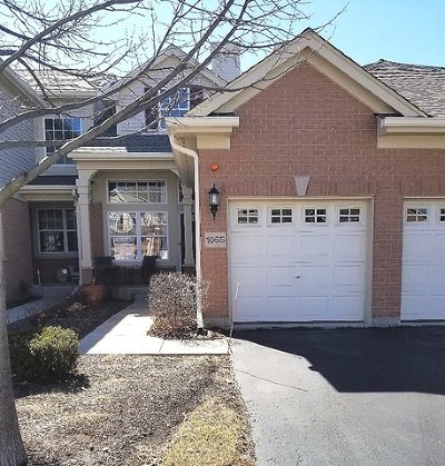 Lake Zurich Condo/Townhouse New: 1055 Orchard Pond Court