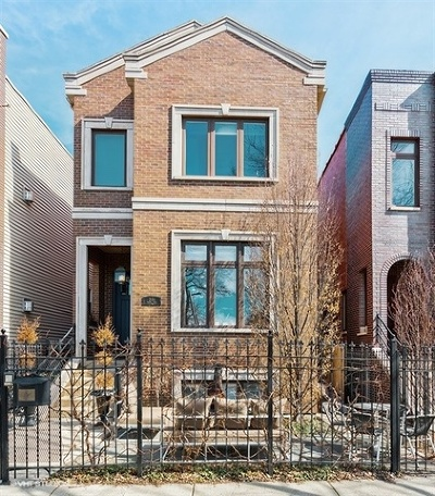 Chicago Single Family Home New: 2151 North Stave Street