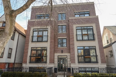 Chicago Condo/Townhouse New: 3809 North Wayne Avenue #3N