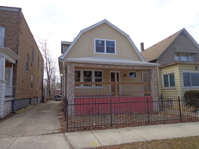 Single Family Home New: 11846 South Lafayette Avenue
