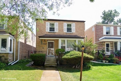 Chicago Single Family Home New: 3123 West Chase Avenue