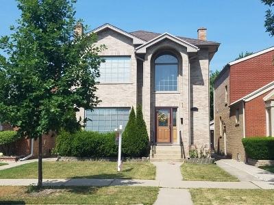 Chicago Single Family Home New: 6340 North Tripp Avenue