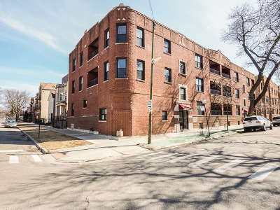 Chicago Condo/Townhouse New: 1019 North Campbell Avenue #G