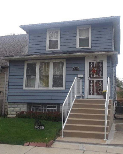 Chicago Single Family Home New: 9548 South Lasalle Street
