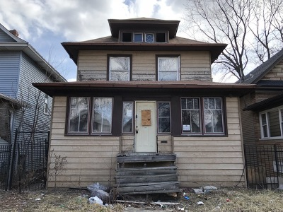 Chicago IL Single Family Home New: $54,000