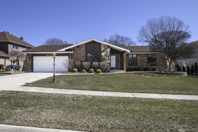 Palos Heights, Palos Hills Single Family Home New: 9709 Maple Crest Court