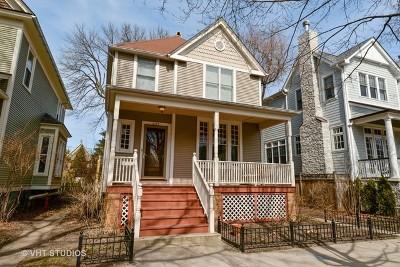 Chicago Single Family Home New: 2120 West Leland Avenue