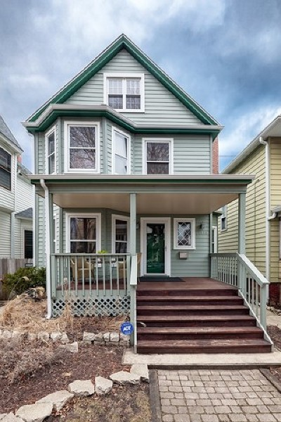 Chicago Single Family Home New: 1414 West Hood Avenue