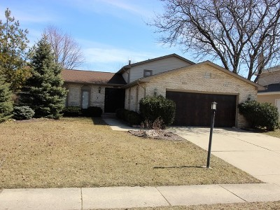 Schaumburg Single Family Home For Sale: 1031 Spring Cove Drive