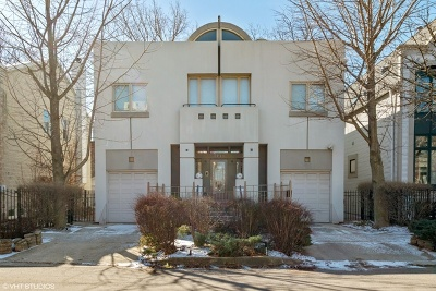 Single Family Home For Sale: 1711 West Wabansia Avenue