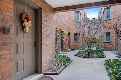 Chicago Condo/Townhouse New: 1906 North Mohawk Street #23