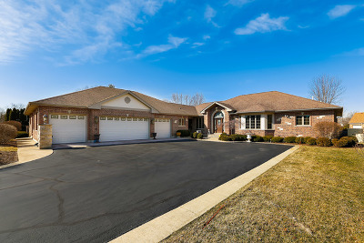 West Chicago  Single Family Home For Sale: 4n550 Wescot Lane