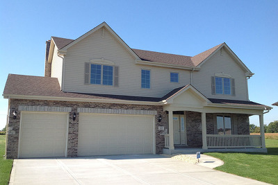 Mokena Single Family Home New: 12507 Crystal Court West