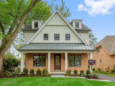 Clarendon Hills Single Family Home For Sale: 411 Colfax Avenue