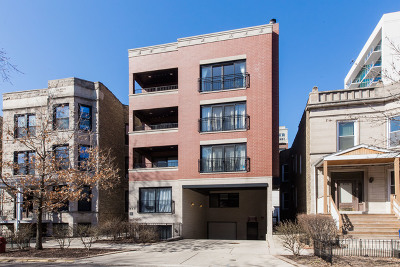 Chicago Condo/Townhouse New: 830 West Bradley Place #3N