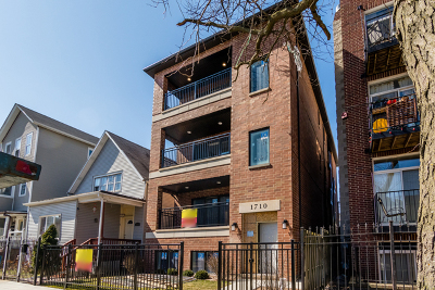 Chicago Condo/Townhouse New: 1710 North Albany Avenue #2