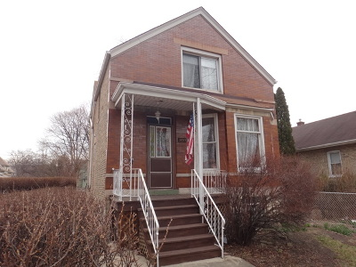 Berwyn Single Family Home New: 3233 Clarence Avenue