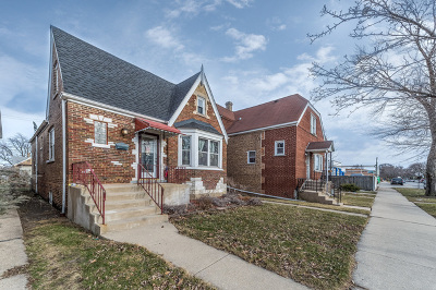Chicago Single Family Home New: 2823 North Melvina Avenue