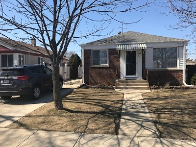 Chicago Single Family Home New: 5524 North Odell Avenue